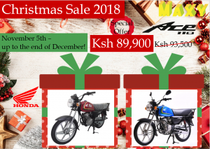 HONDA Ace110 Christmas Sale